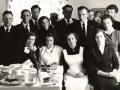 Johan Asserin lapsia ja heidän puolisoita vuonna 1958